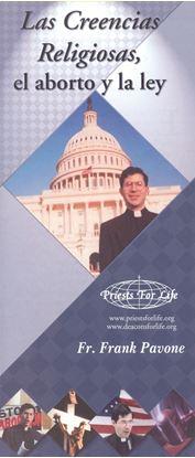 Picture of Las Creencias Religiosas, el aborto y la ley