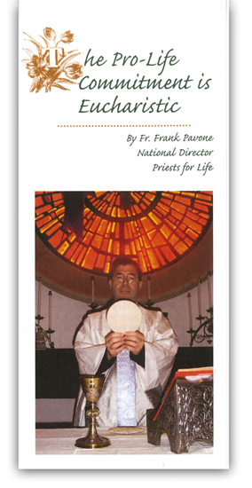 Picture of The Pro-Life Commitment is Eucharistic