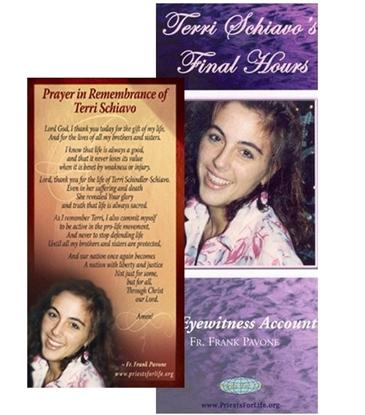 Picture of Remembering Terri Schiavo Product Bundle