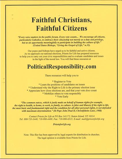 Picture of FaithFul Christians, Faithful Citizens (Catholic)