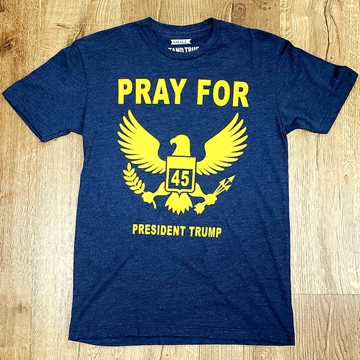 "Picture of ""Pray for 45"" President Trump"